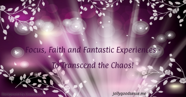 Focus Faith and Fantastic Experiences