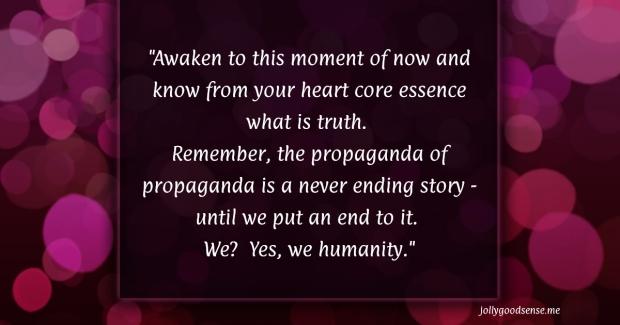 Propaganda of Propaganda