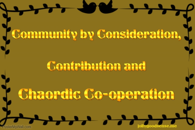 Community chaordic Cooperation
